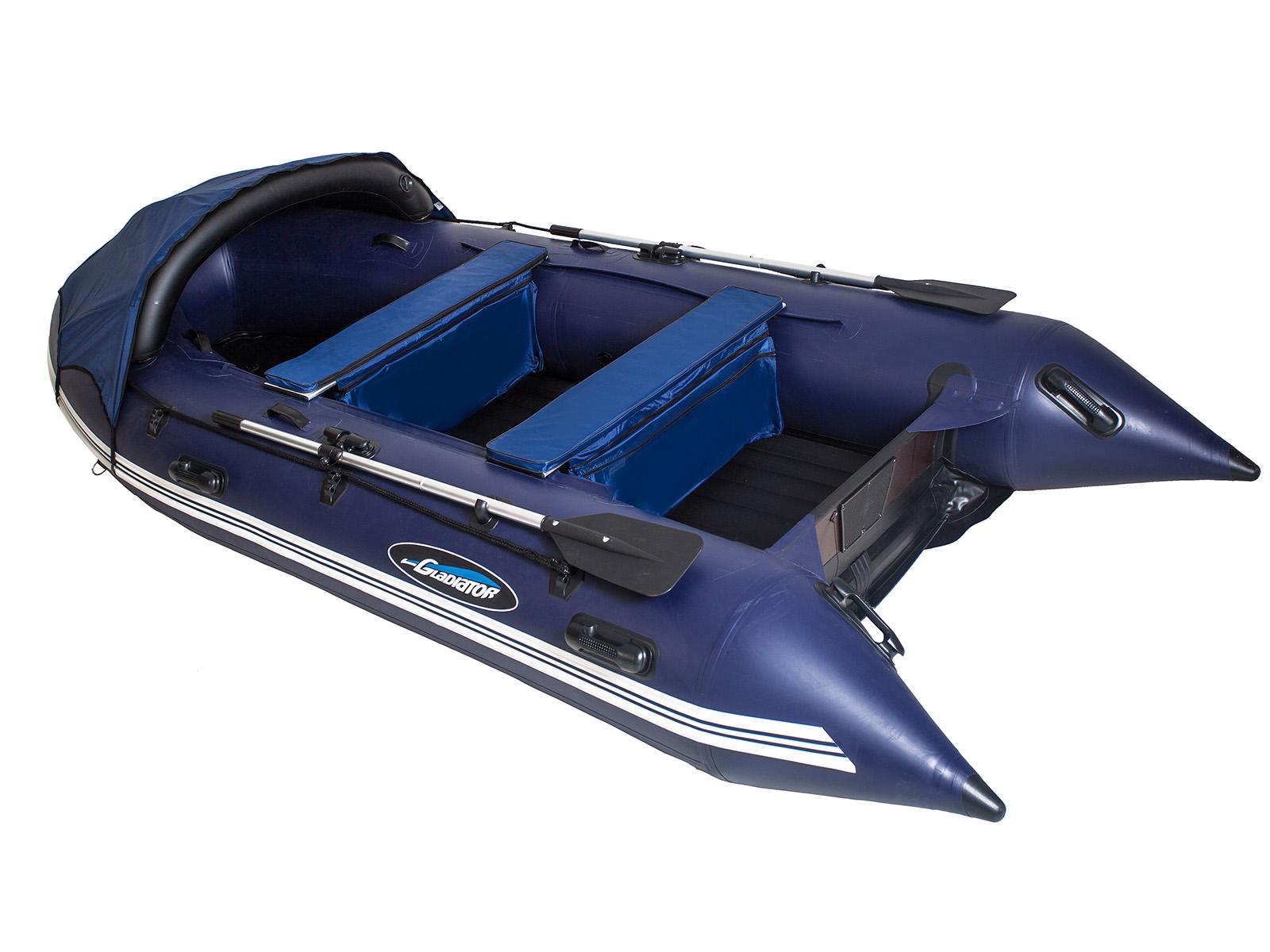 Лодка надувная Gladiator E 450 НДНД 4,5 x 2,04 м