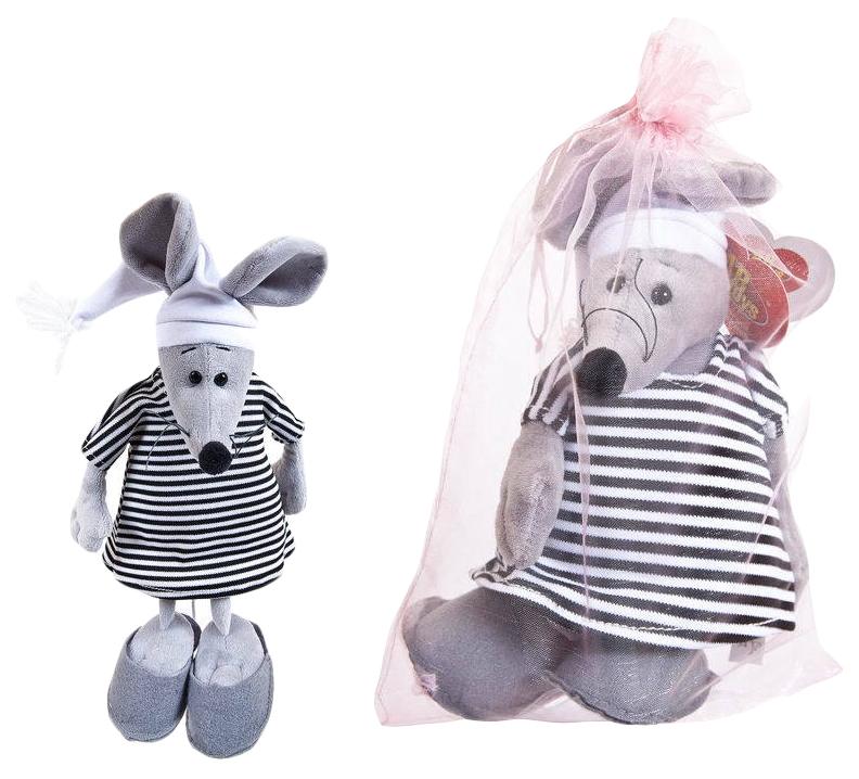 Купить Мягкая Игрушка Abtoys Мышка В Тельняшке M2088, Мягкие игрушки животные