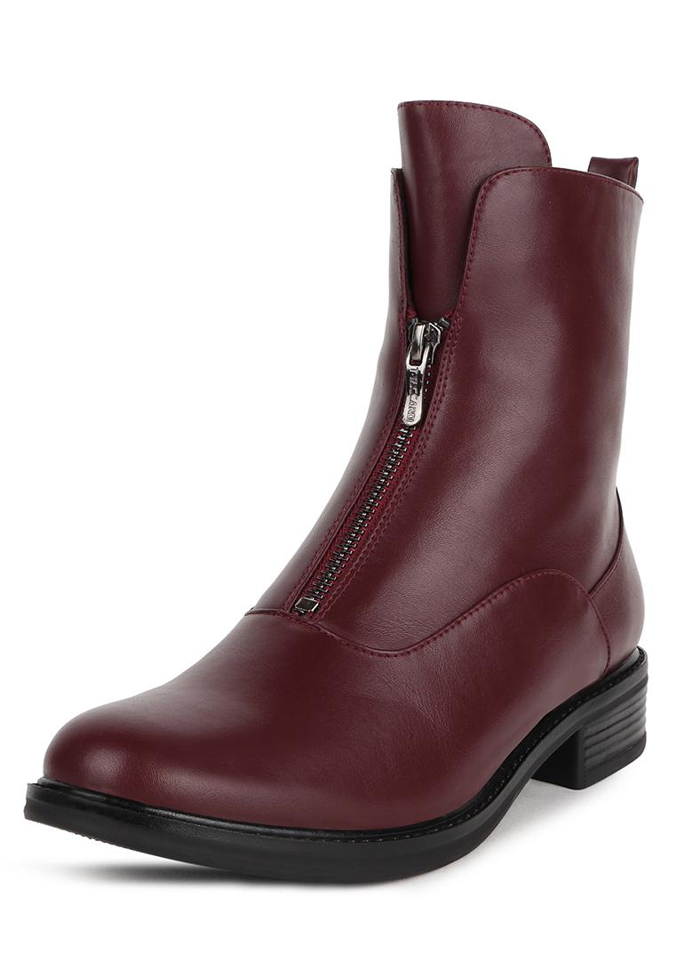 Ботинки женские T.Taccardi 710018461 красные 36 RU