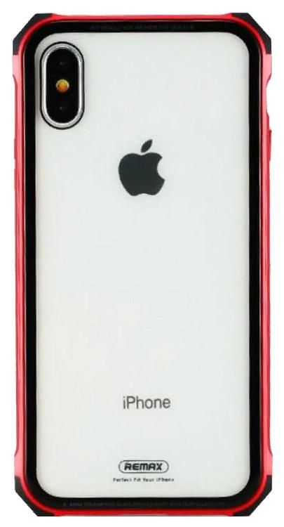 Чехол Remax Kooble Red Apple iPhone X