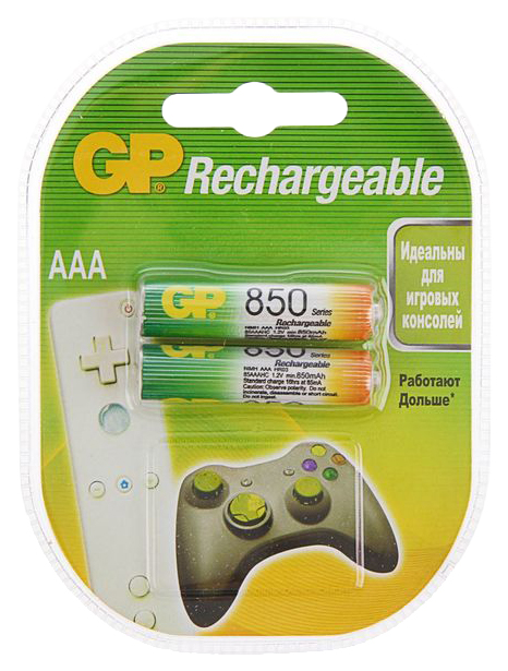 Аккумуляторная батарея GP HR03 850 2BL