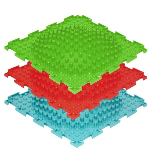 картинка Модульный коврик Ортодон Островок (мягкий) от магазина Bebikam.ru