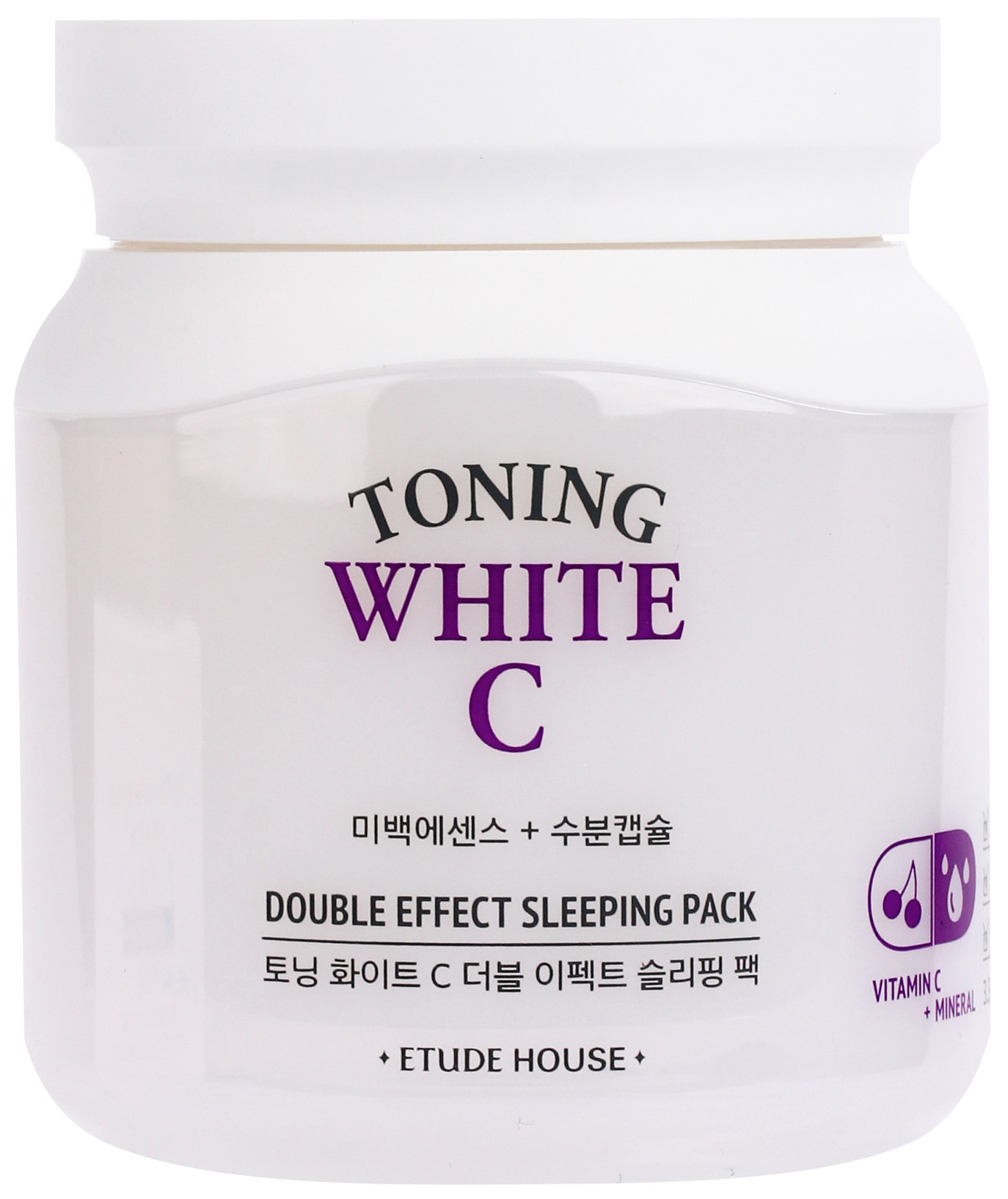 Маска для лица Etude House Toning White C Double Effect Sleeping Pack 100 мл