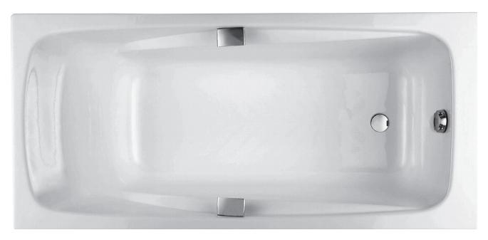Чугунная ванна Jacob Delafon Repos E2903-00 180х85 без гидромассажа