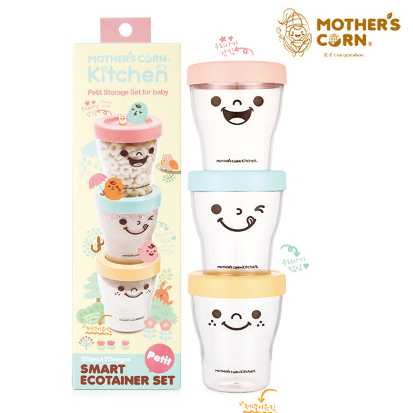 Набор контейнеров Mothers Corn мамина радость