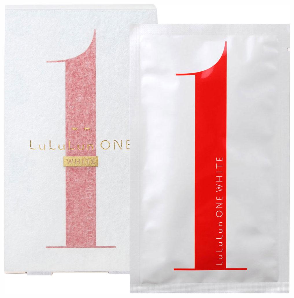 Маска для лица Lululun ONE White 40 г x 5 шт.
