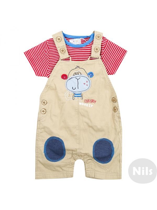 Комплект одежды детский BABALUNO бежевый р.62