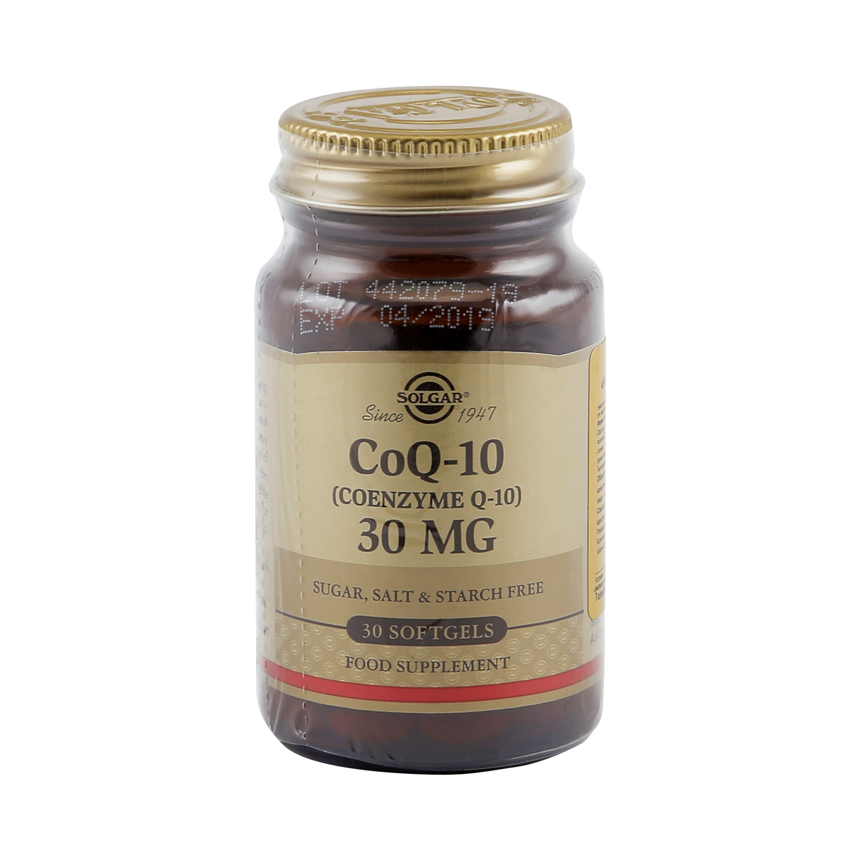 Солгар Коэнзим Q-10 капсулы 30 мг 30 шт. фото