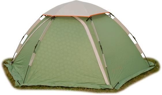 Палатка-автомат Maverick Aero двухместная зеленая