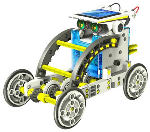 Купить Конструктор пластиковый OCIE 14 в 1: Робот на солнечных батареях,