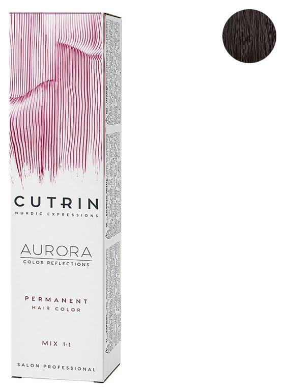 Купить Cutrin Cutrin Крем-краска для волос 5, 37G Светло-коричневое золотое дерево AURORA, 60 мл