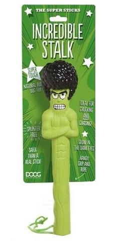 Апорт для собак Doog Incredible Stalk, зеленый