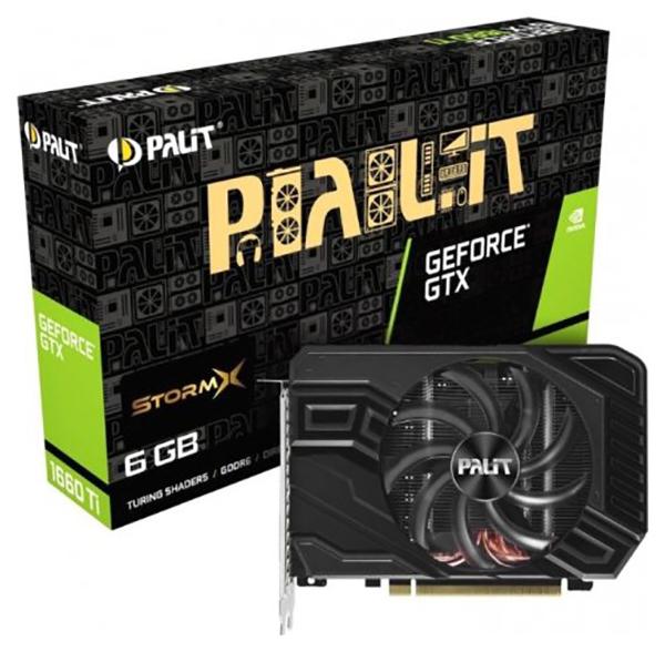 Видеокарта Palit nVidia GeForce GTX 1660