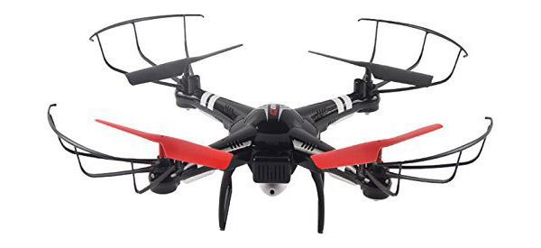 Радиоуправляемый квадрокоптер WL Toys Q222K с камерой