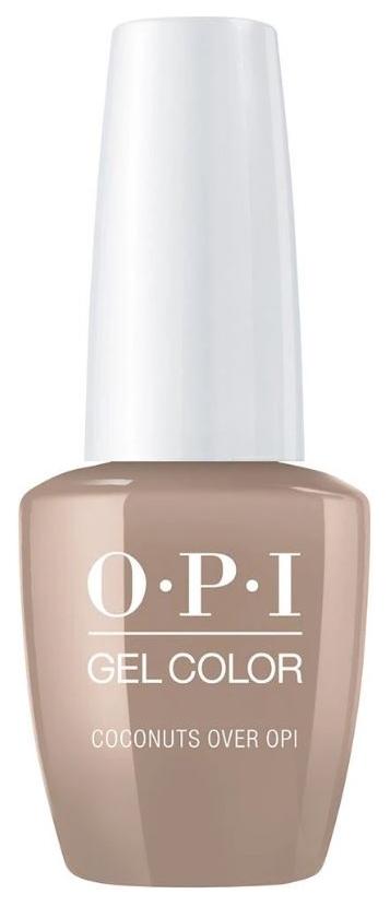 Лак для ногтей OPI Classic GelColor Coconuts Over OPI 15 мл фото