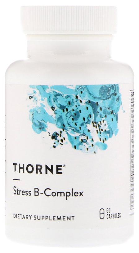 Купить Витамин B Thorne Research Stress B-Complex 60 капс.