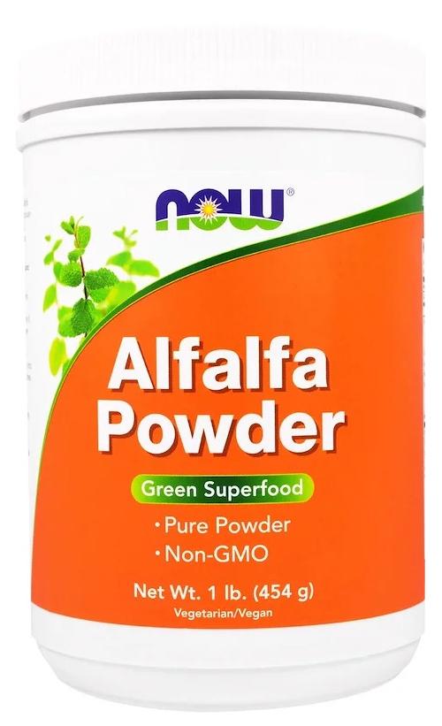 Добавка для здоровья NOW Alfalfa 454