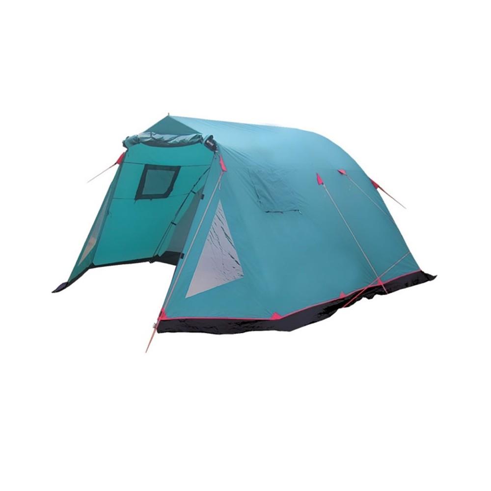 Палатка Tramp Baltic Wave 5 V2 зеленый Цвет зеленый