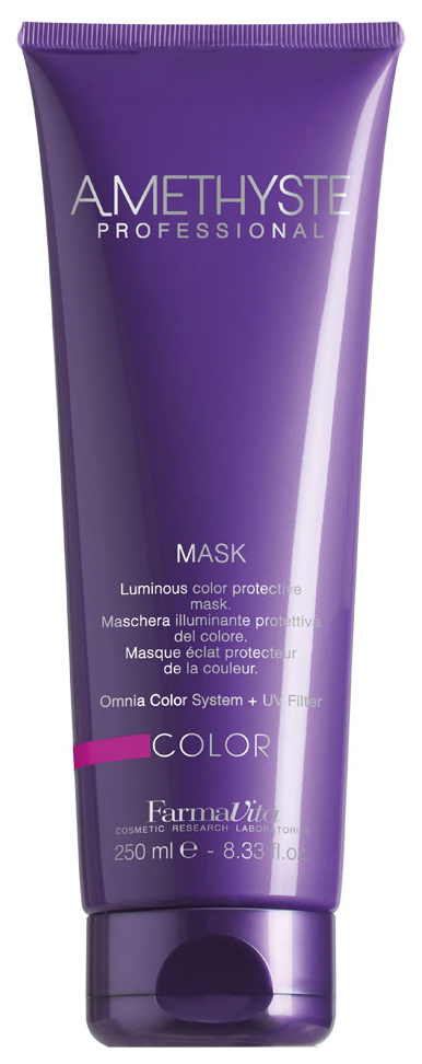 Маска для ухода за окрашенными волосами Farmavita Amethyste color mask 250 мл