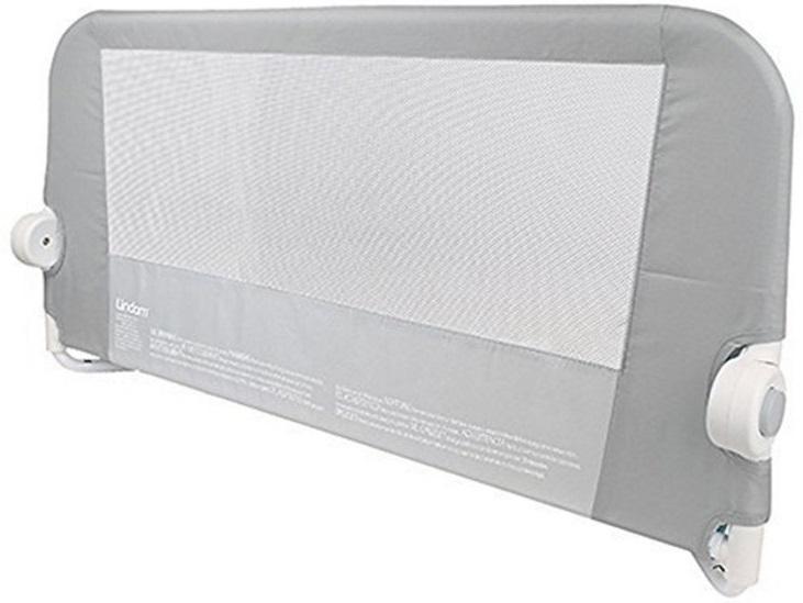 Бортик защитный для кровати Lindam 108 См Серый