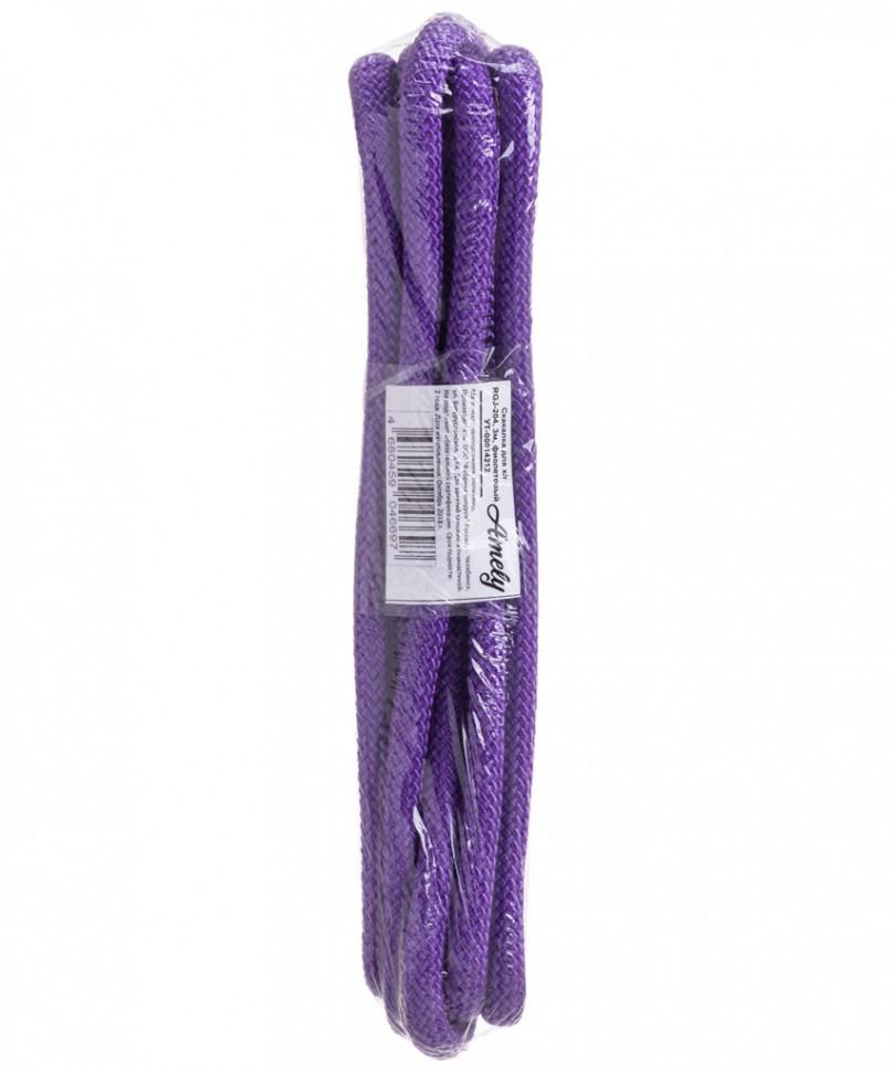 Скакалка для художественной гимнастики Amely RGJ-204, 3м, фиолетовый