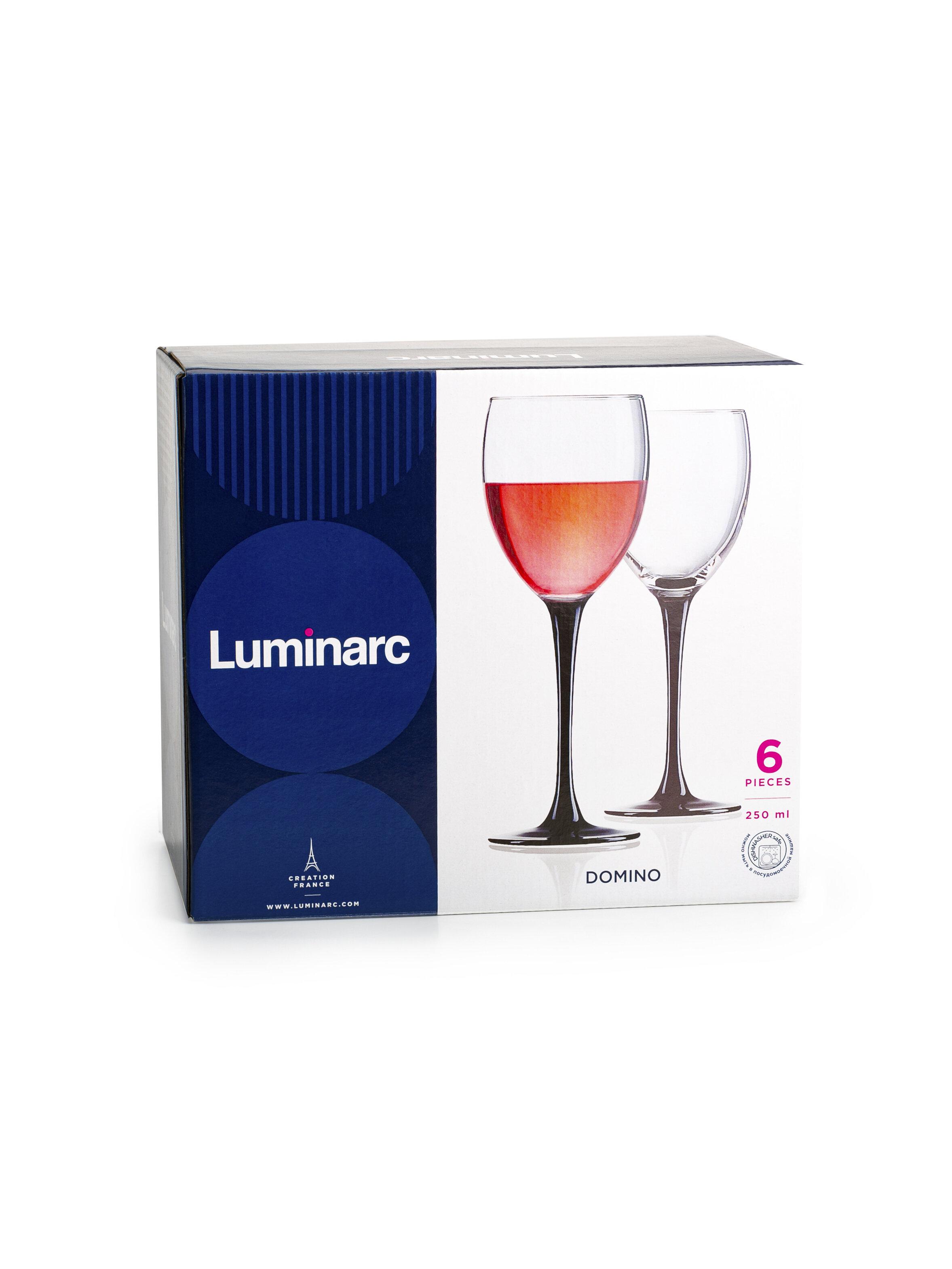 Набор фужеров Luminarc domino для красного вина 6шт