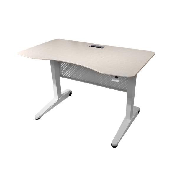 Компьютерный стол Rifforma 10695, светлый дуб/белый