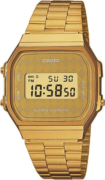 Японские наручные часы Casio Collection A-168WG-9B