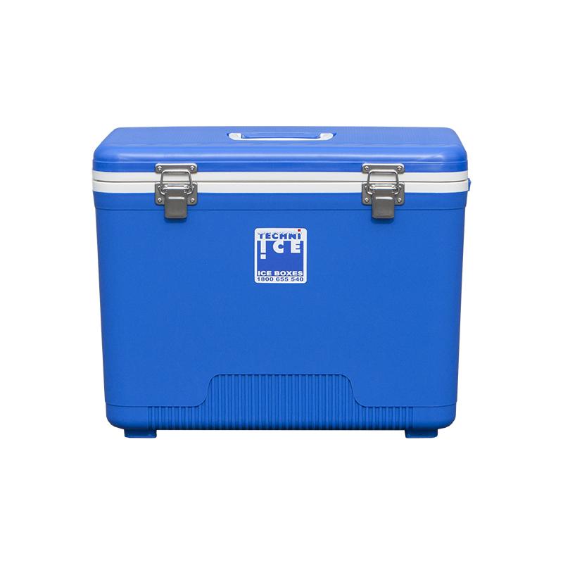 Изотермический контейнер Серия КОМПАКТ 28 л (синий) фото