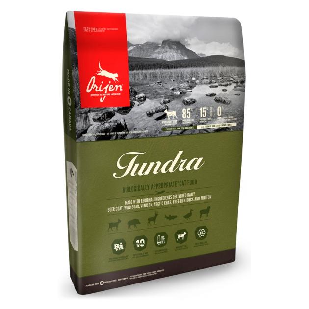 Сухой корм для кошек Orijen Tundra дичь 18кг.