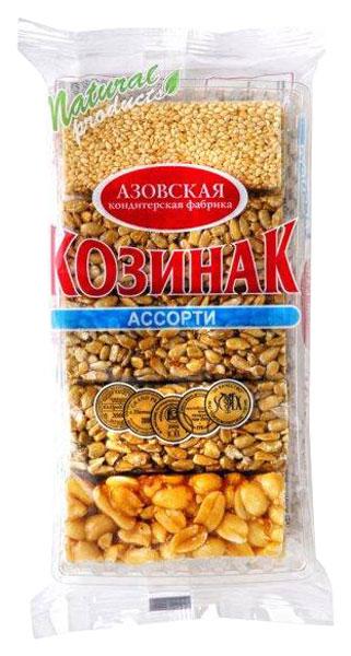 Козинак ассорти Азовская кондитерская фабрика 280 г фото