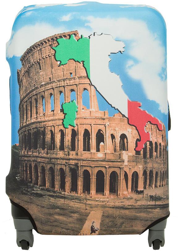 Чехол на чемодан Gianni Conti 9018M travel Italy коричневый.