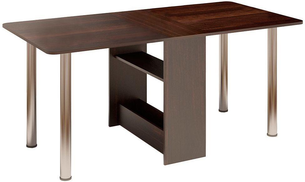 Кухонный стол Divan.ru 74х30х83 см, коричневый