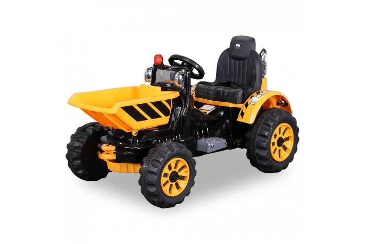 Купить Детский электромобиль трактор на аккумуляторе Jiajia JS328C-Yellow,