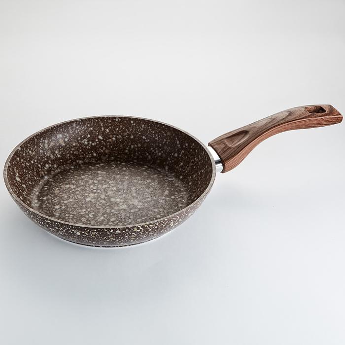 Сковорода литая Alpenkok 0081 диаметр 24 см
