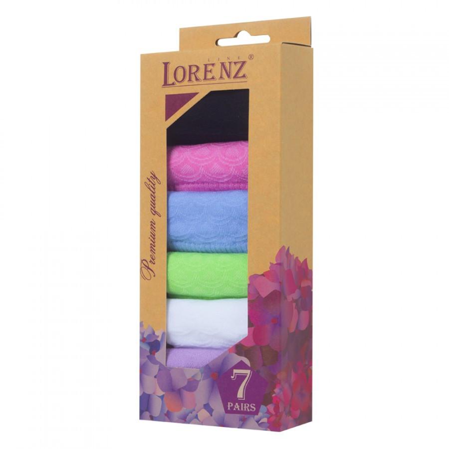 Носки подарочные набор носков женские LorenzLine Р18 разноцветные 37-38