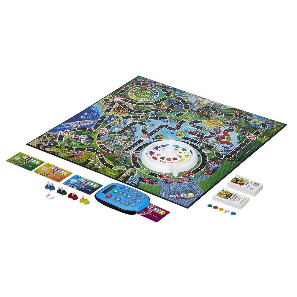 Экономическая настольная игра Hasbro Gaming игра в жизнь с банковскими картами A6769 фото