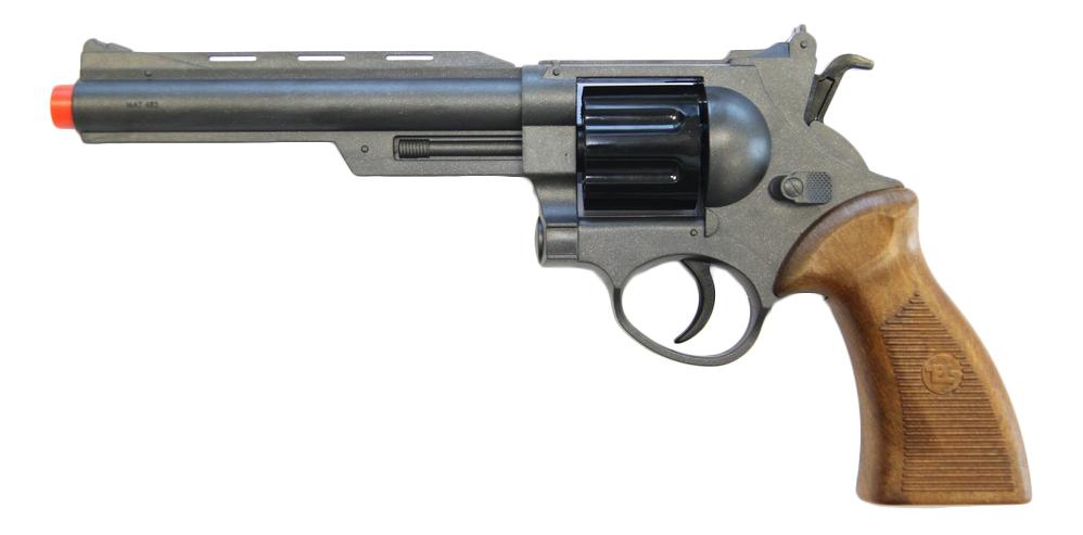 Купить Пистолет игрушечный Champions-Line Ron Smith 28 см, блистер, Edison Giocattoli, Игрушечные пистолеты