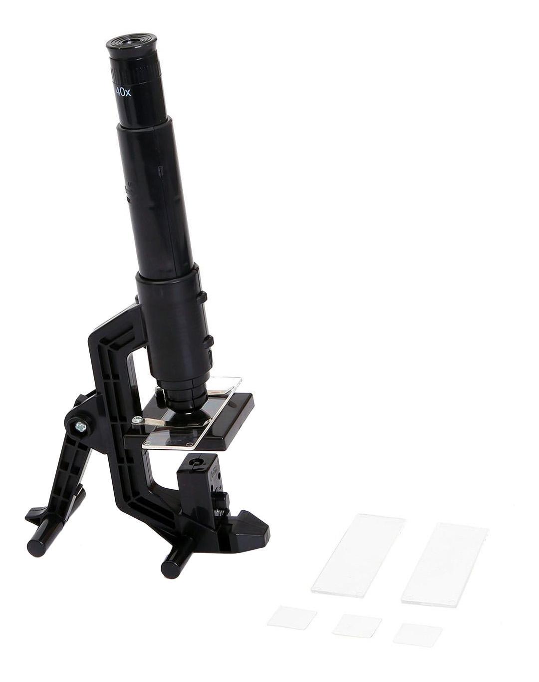 Японские опыты науки с буки Bondibon микроскоп
