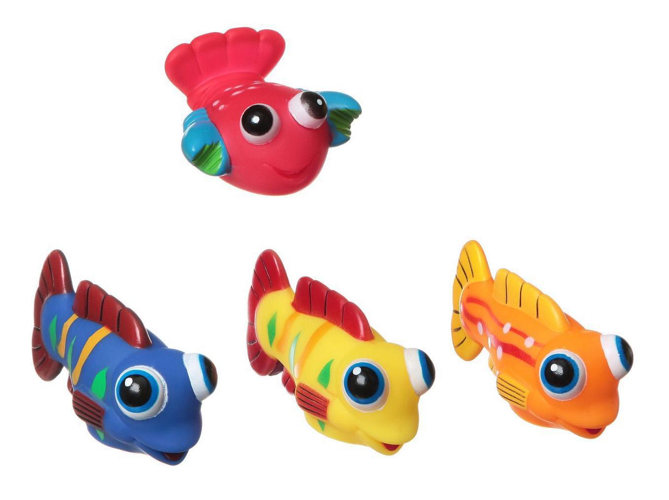 """Игровой набор для купания Bondibon """"Рыбки, рак"""""""