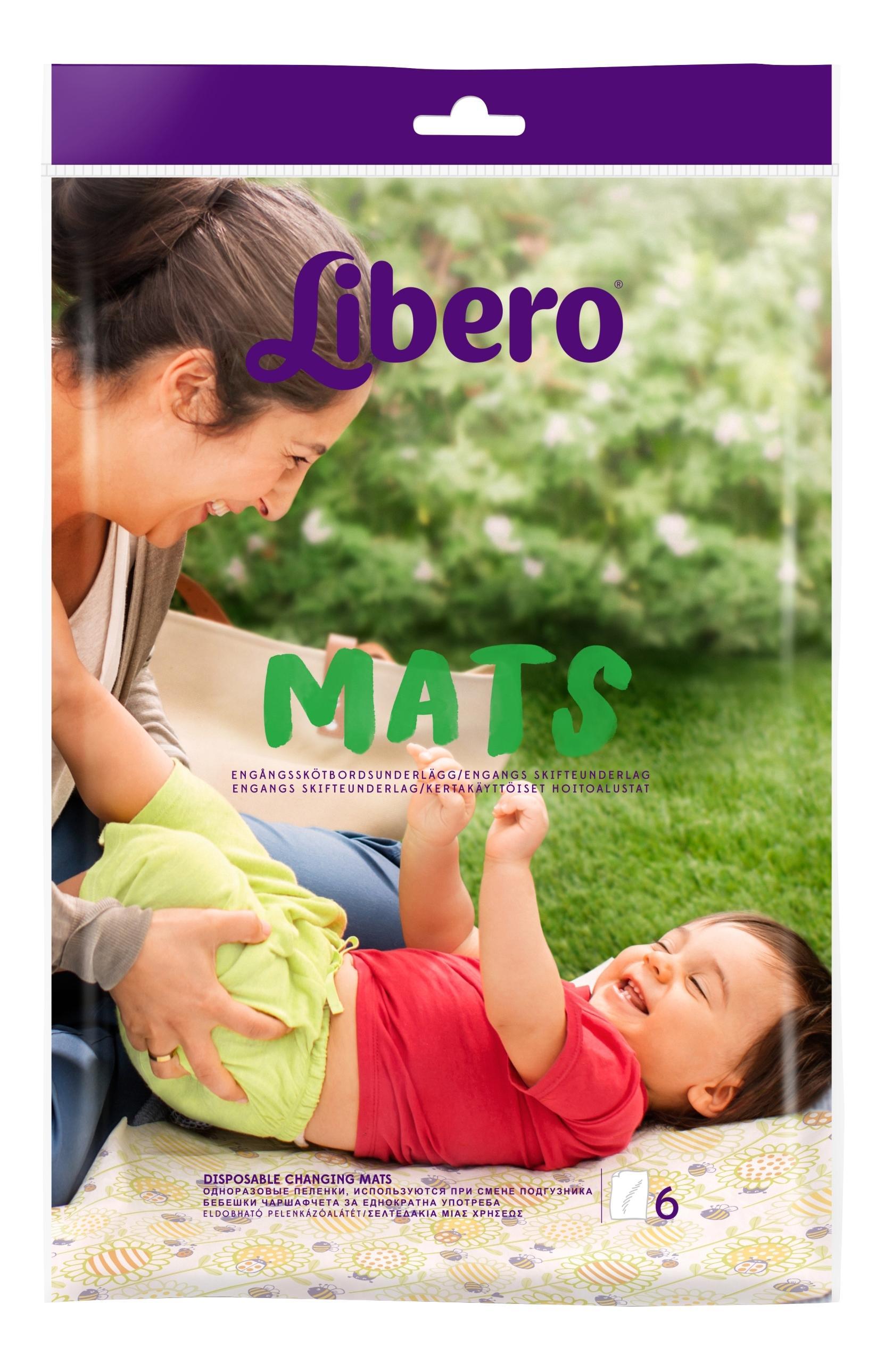Пеленки Libero Mats 6 шт.