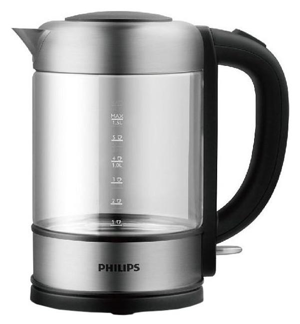 Чайник электрический Philips HD9342/01 Silver/Black