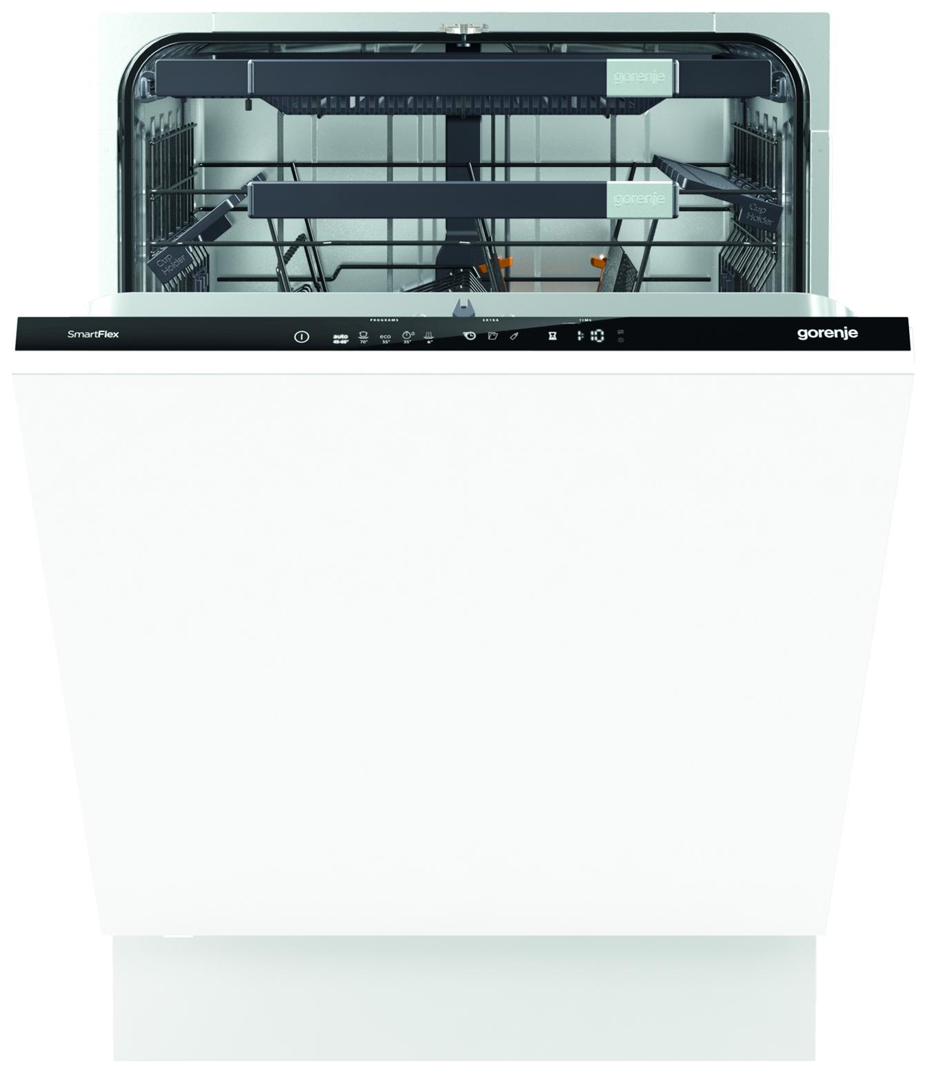Встраиваемая посудомоечная машина 60 см Gorenje GV66260