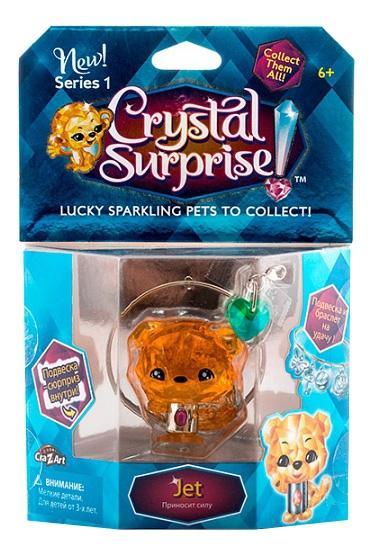 Купить Тигренок, Crystal surprise 45710 кристал сюрприз фигурка тигренок + браслет и подвески, Фигурки животных