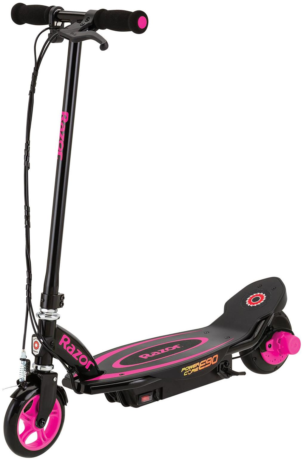 Купить Электросамокат Razor Power Core E90 - Розовый,