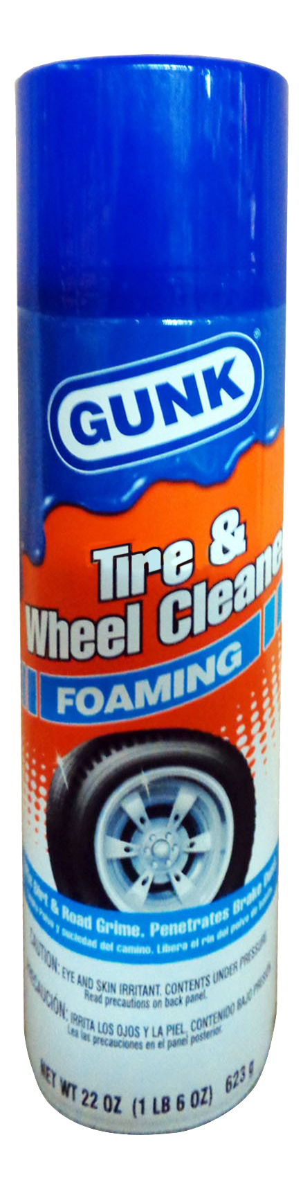 Средство для очистки автомобильных дисков GUNK Foaming