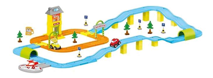 Купить Игровой набор Dolu Дорога с машинками, Детские автотреки