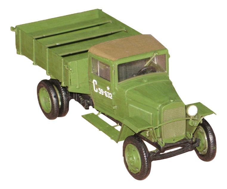 Модели для сборки Zvezda Советский армейский грузовик ГАЗ-ММ обр. 1943 г. фото