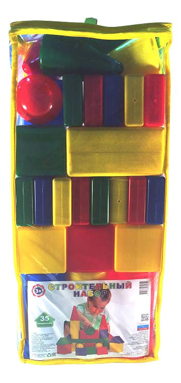 Купить Конструктор пластиковый Десятое королевство Строительный набор 35 элементов, Десятое Королевство, Конструкторы пластмассовые