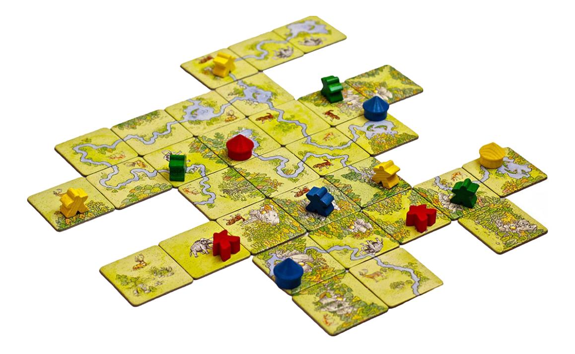 Настольная игра Каркассон, Охотники и Собиратели (Carcassonne: Hunters and Gatherers) фото
